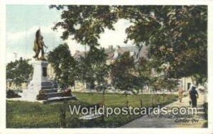 South African Monument Quebec Canada Unused