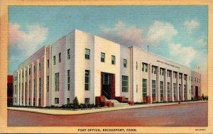 Connecticut Bridgeport Post Office 1946 Curteich