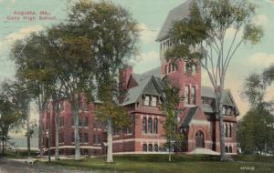 AUGUSTA , Maine , PU-1913; Cony High School