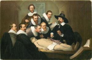 Art Rembrandt - Anatomy
