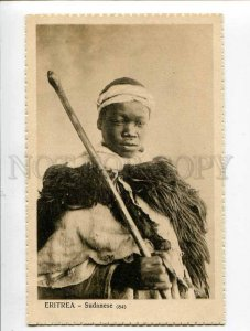 3053781 Eritrea Sudanese man in native dress Vintage