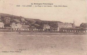 VAL-ANDRE, France, 1900-10s; La Plage a mer haute, - Villa Notre-Dame