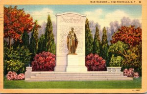 New York New Rochelle War Memorial 1943 Curteich