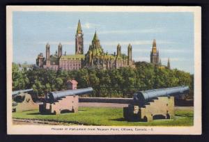 Houses Of Parliament From Neapean Point, Ottawa, ON - Unused