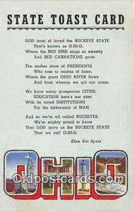 Greeting From Ohio, USA Unused