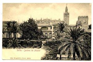 Spain - Sevilla. Gardens of Alcazar