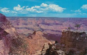 Grand Canyon National Park, Arizona 4 to 18 miles wide, 1 mile deep - pm 1971