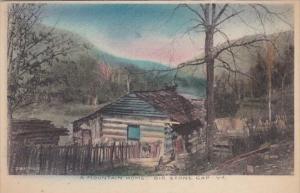 Virginia Big Stone Gap Typical Mountain Home Handcolored Albertype