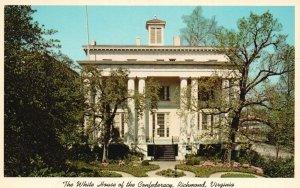 Richmond, VA, White House of the Confederacy, 1960 Vintage Postcard g9184