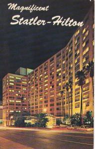 California Los Angeles Statler-Hilton Hotel