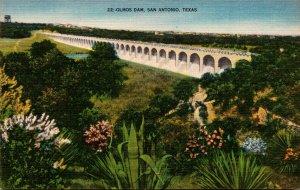 Texas San Antonia The Olmos Dam