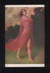 052877 NUDE Dancer BELLE by PENOT vintage SALON color PC