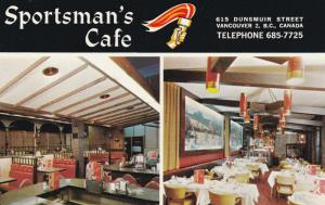 VANCOUVER, British Columbia, Canada , 40-60s; 2-Views, Sportman's Cafe