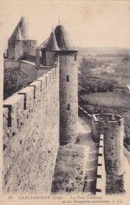 La Tour Cahurac Et Les Remparts Exterieurs, Carcassonne (Aude), France, 1900-...
