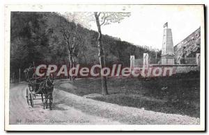 Postcard From The Old Pontarlier Monument Cluse
