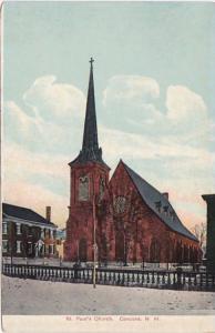 New Hampshire Concord St Paul's Church