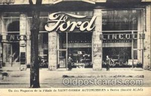 Saint Didier Automobiles Berlin Postcard Post Cards Old Vintage Antique Berli...