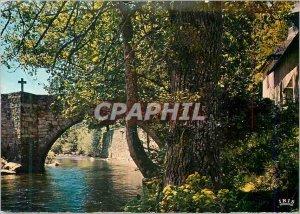 Postcard Modern Correze (Correze) 9 Old Bridge
