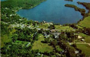 New Hampshire Center Harbor Aerial View 1964