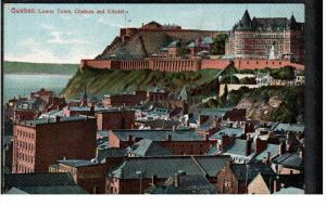 QUEBEC, Canada; Lower Town, Chateau and Citadel, 00-10s