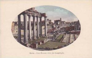 Italy Roma Rome Foro Romano visto dal Campidoglio