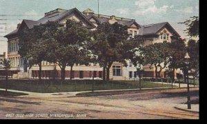 Minnesota Minneapolis East Side High School 1907