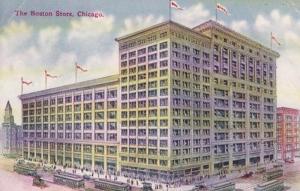 Illinois Chicago The Boston Store 1911