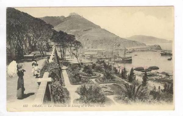 La Promenade De Letang Et Le Port,Oran,Algeria,1900-10s