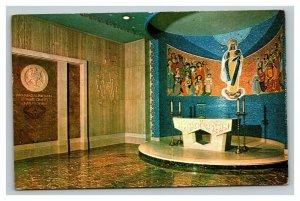 Vintage 1940's Postcard National Shrine Immaculate Conception Washington DC