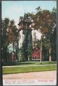 Mission Tower Childrens Chimes Stockbridge MA 1908 American News Co 7910
