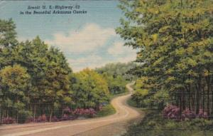 Arkansas Scenic U S Highway 62 In The Ozarks 1957 Curteich