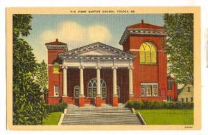 Baptist  Church , Tocca , Georgia , 30-40s