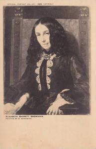 Painting, Elizabeth Barrett Browning, 1806-1861, Poetess, 10-20s