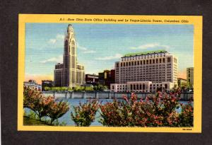 OH Ohio State Office Bldg Le Veque Lincoln Tower Columbus Ohio Postcard