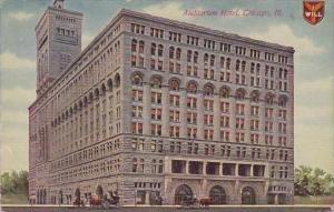 Illinois Chicago Auditorium Hotel