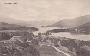 ENGLAND, 1900-1910's; Coniston Lake