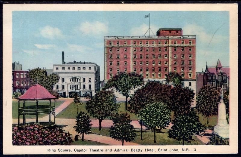 Kings Square,Capitol Theatre,Saint John,New Brunswick,Canada