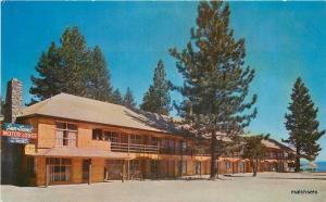 1960s Lake Tahoe California Sun & Sand Lodge roadside Roberts 10764