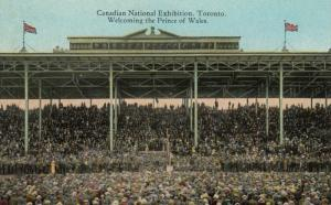 TORONTO , Ontario, 1900-10s ; C.N.E. ; Prince of Wales being Welcomed