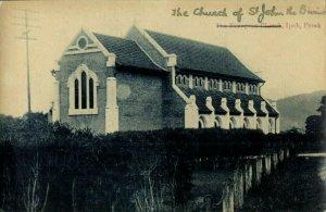 malay malaysia, PERAK IPOH, The European Church (1910s) Moritani Postcard