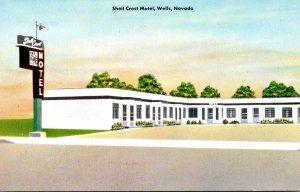 Nevada Wells Shell Crest Motel