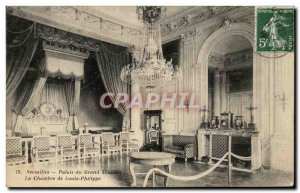 Old Postcard Versailles Palace of the Grand Trianon, the House of Louis Philippe