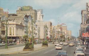 Canal Street, New Orelans, Louisiana, 40-60s