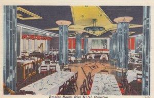 HOUSTON , Texas , 1930-40s ; Empire Room - Rice Hotel #2
