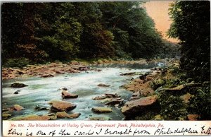 Wissahickon at Valley Greens Fairmount Park Philadelphia PA Vintage Postcard R25