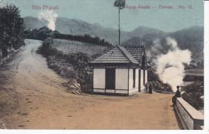SAO MIGUEL, Acores, Portugal, 1900-1910´s; Agua Azeda Furnas