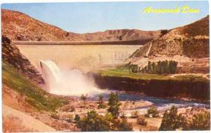 Arrow Rock Dam on Boise River near Boise. Idaho. ID,  Pre-zip code Chrome