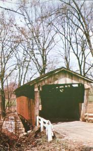 Macklin House Covered Bridge near Baltimore, Ohio