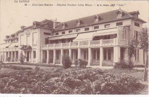 France Aix les Bains Hopital Docteur Leon Blanc