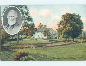 Divided-Back POSTCARD FROM Haverhill Massachusetts MA HM7764